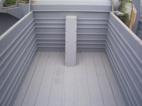 cajas de volteo extra reforzadas, piso y paredes troqueladas