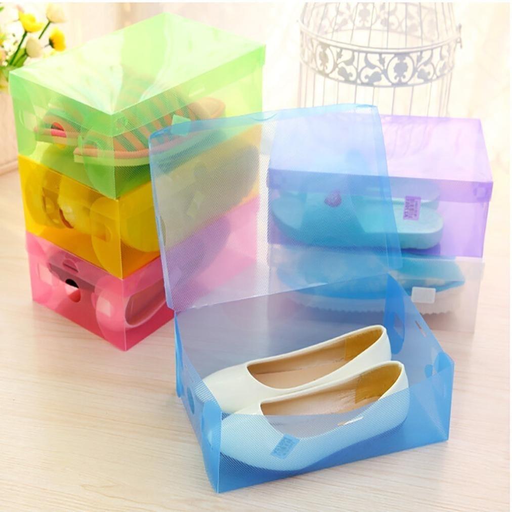 Cajas De Zapatos Transparentes Shoebox Lelili 5pcs 47 000 En  ~ Cajas Transparentes Para Zapatos