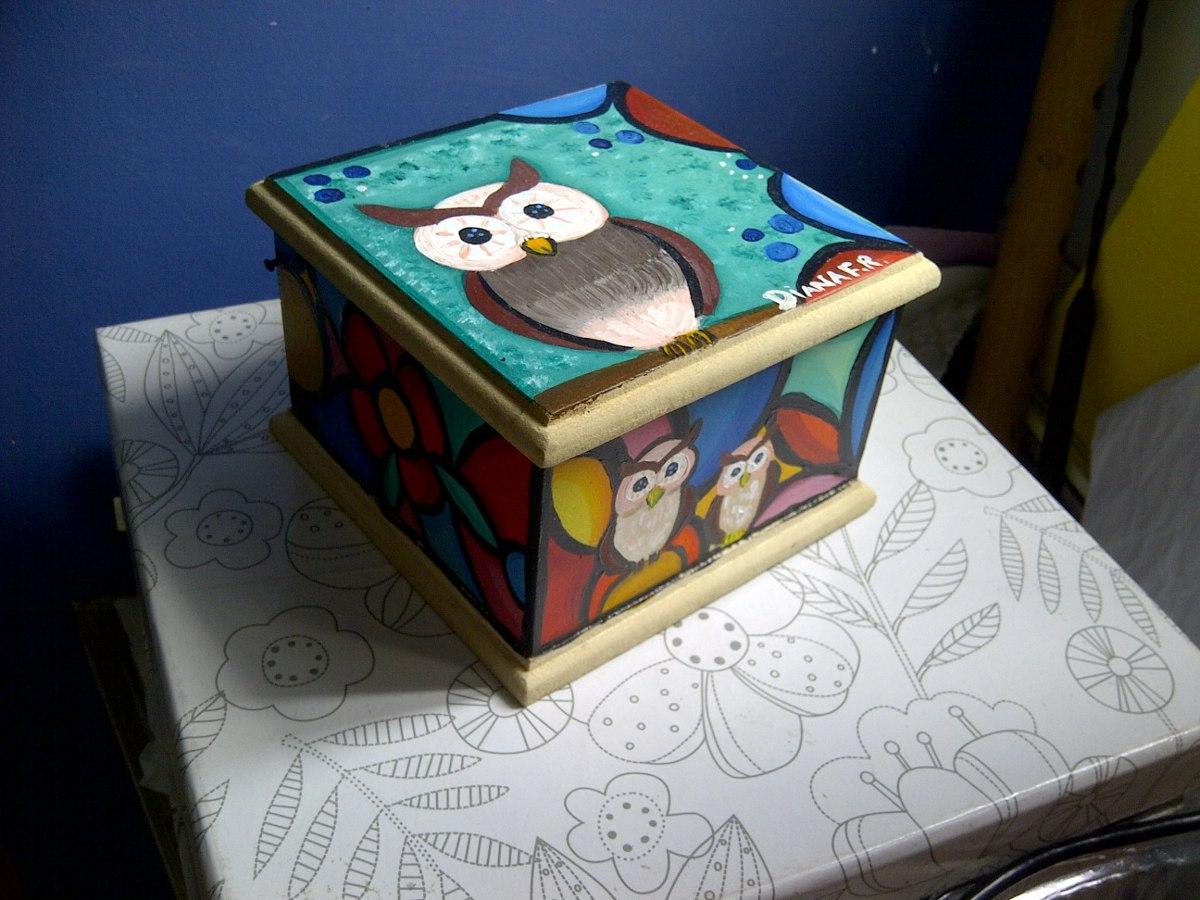 Cajas decoradas en mdf bs en mercado libre - Cajas decoradas a mano ...