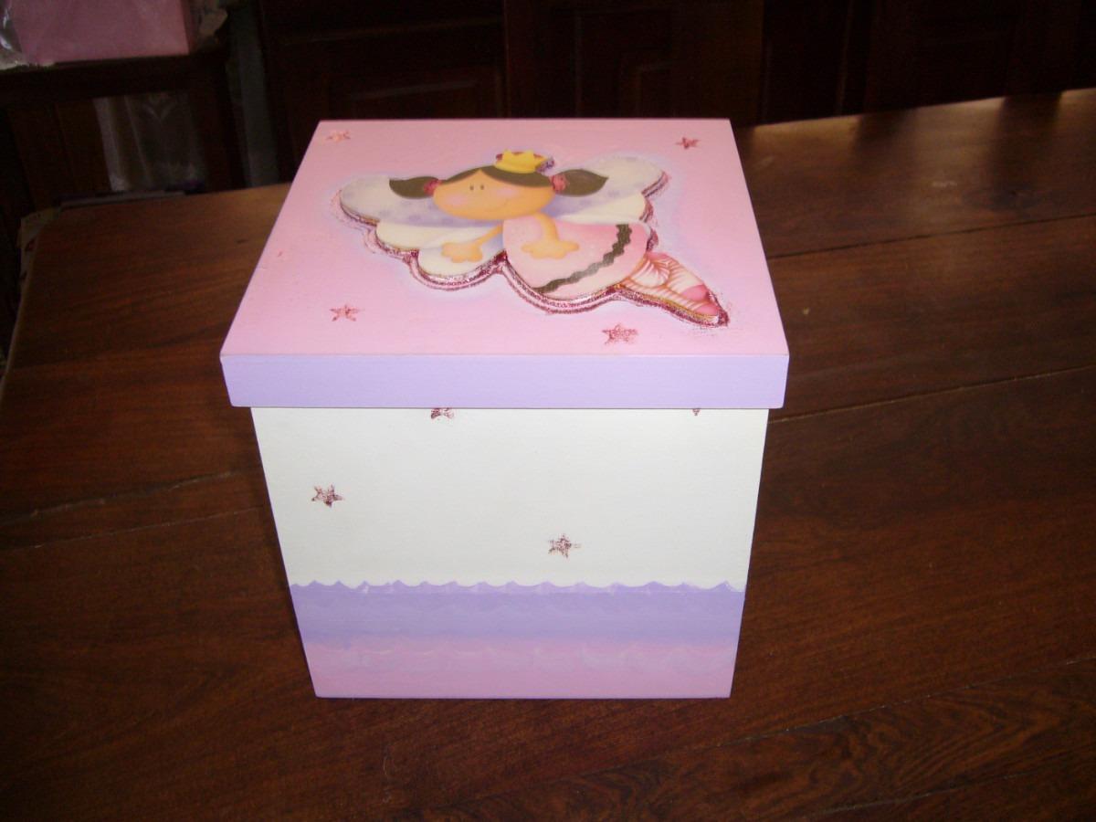 Cajas Decoradas Para Ajuar -baby Shower - Pañales !! - $ 150,00 en ...