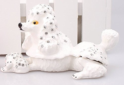 cajas decorativas,caja de la baratija del perro de canic..