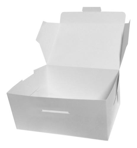 cajas delivery tortas, dulces (22x22x10) 10 unid.