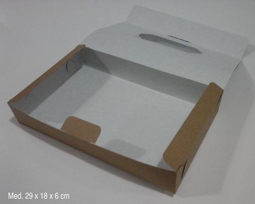 cajas donuts muffins galletitas ventan pvc aut 29x18x6