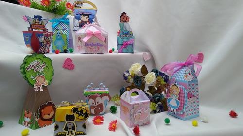 cajas dulces recordatorios personalizados $35.0000 docena!!