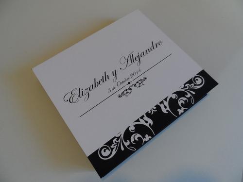 cajas elegantes para regalo e invitación personalizadas