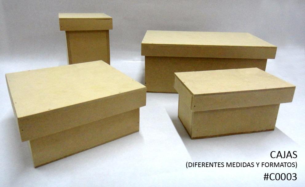 cajas en fibrofcil mdf para pintar y decorar