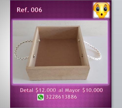 cajas en mdf