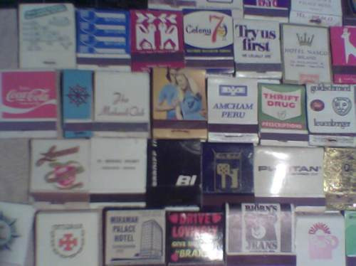 cajas fosforos coleccion