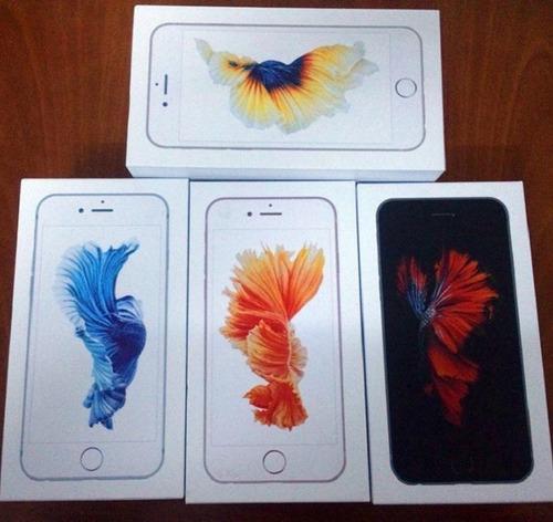 cajas iphone 6s & 6s plus apple original