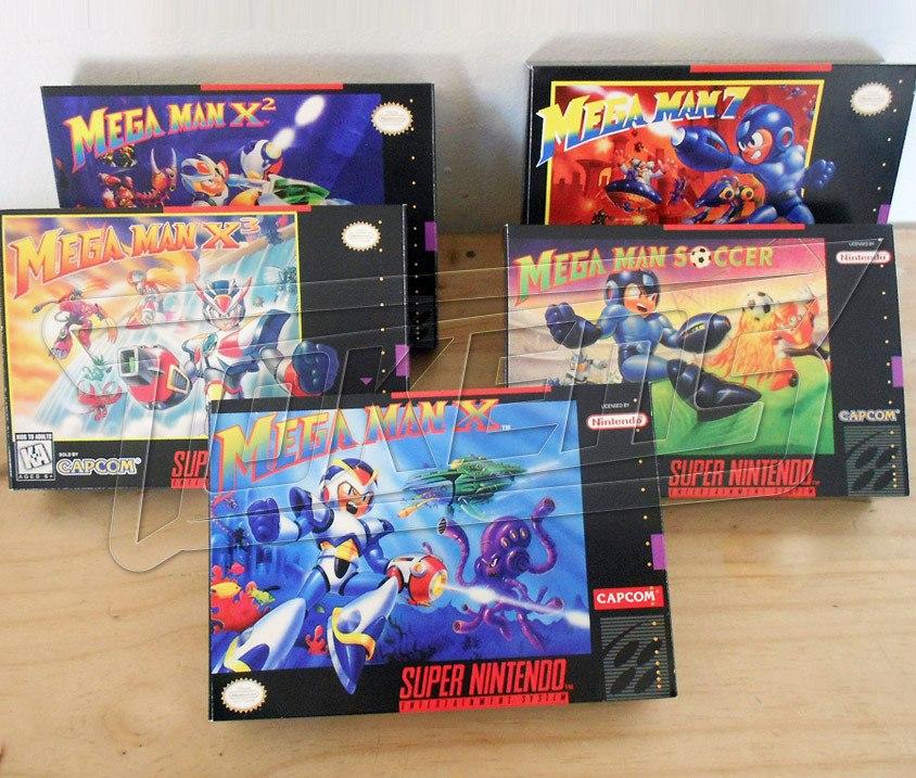 Cajas Juegos Retro Nintendo Nes Snes N64 Atari Gb 55 00 En