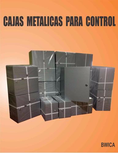 cajas  metalicas para  control(20x15x15 cm)