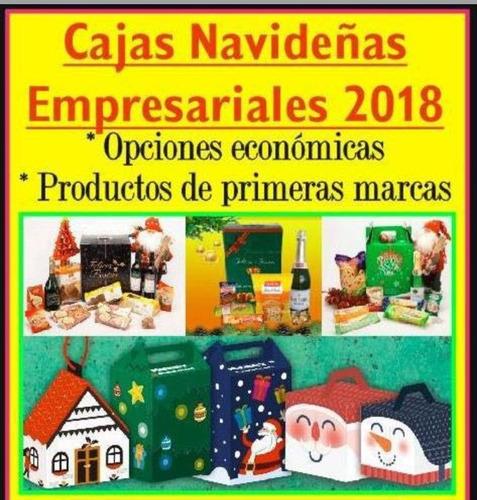 cajas navideñas 2018 nº7 (8 prod) georgalos y fantoche