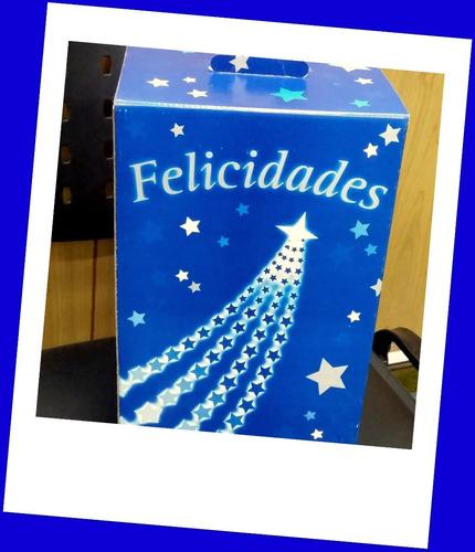 cajas navideñas de carton impresas