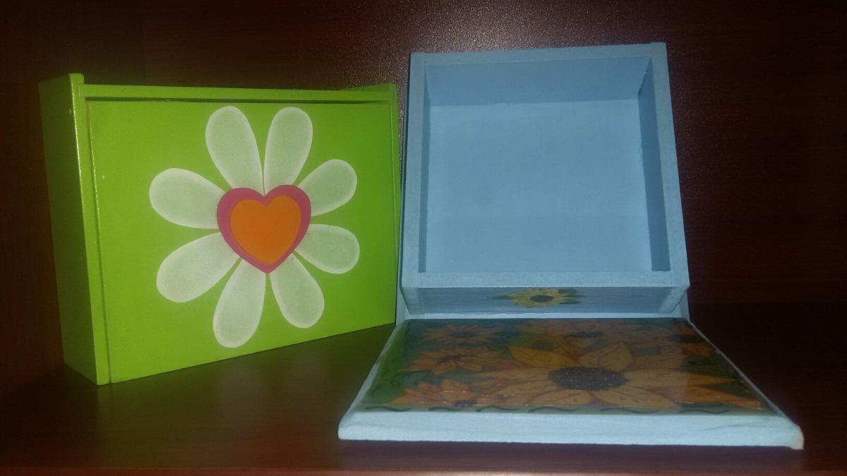 Cajas organizadoras decorativas de madera grandes bs 99 - Cajas de madera decorativas ...