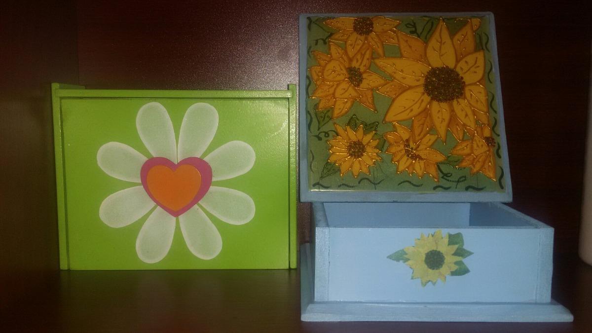 Cajas organizadoras decorativas de madera grandes bs 19 - Cajas de madera decorativas ...