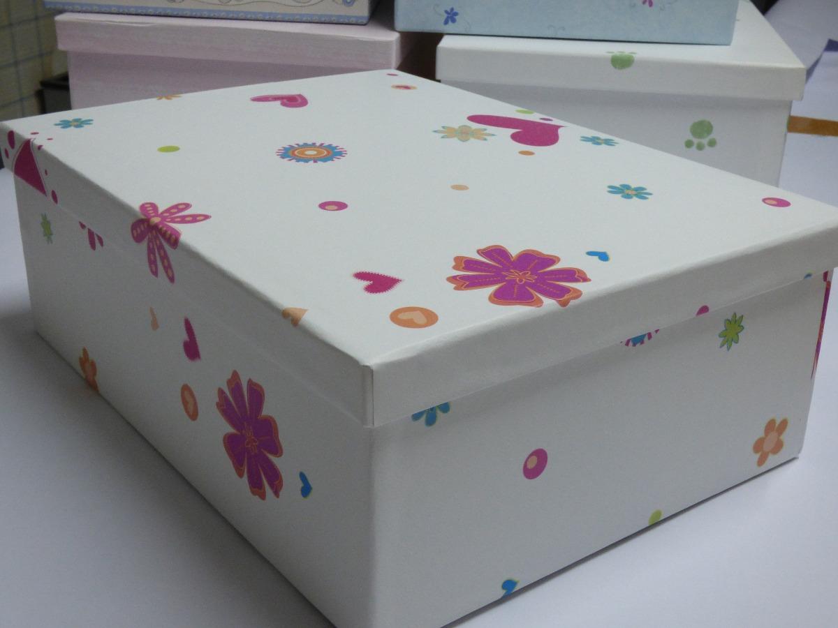 Cajas Organizadoras Decorativas Cajas Decoradas En Bs As Costa  ~ Cajas De Carton Decorativas Grandes