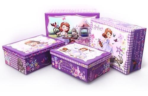 cajas organizadores para niñas, princesita sofia