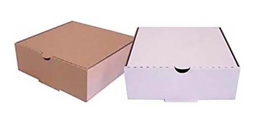 cajas p/ empanadas microcorrugas 1/2 docena 100 unid % envio
