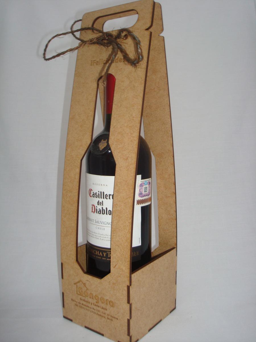 3549ec06c Cajas Para Botellas De Vino - $ 45.00 en Mercado Libre