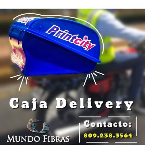 cajas para deliverys en fibra de vidrio multifuncional