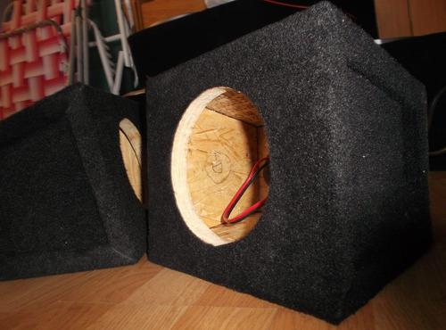 cajas para parlantes de 4  5  6  y 6,5  exelente sonido!!
