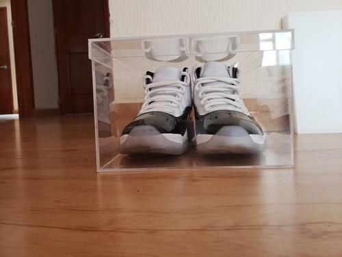 cajas para tenis de acrílico transparente