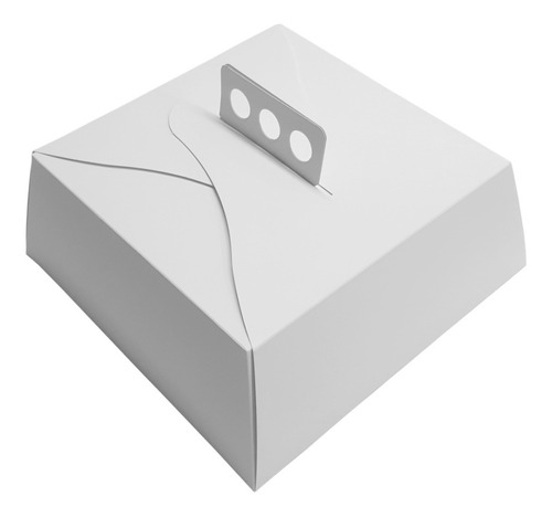 cajas para tortas tartas y masas 27x27x10 pack x 100 unid