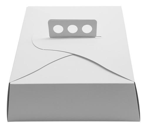 cajas para tortas tartas y masas 27x27x10 pack x 25 unid