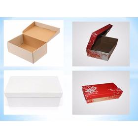Cajas Para Zapatillas En Microcorrugado Impresas