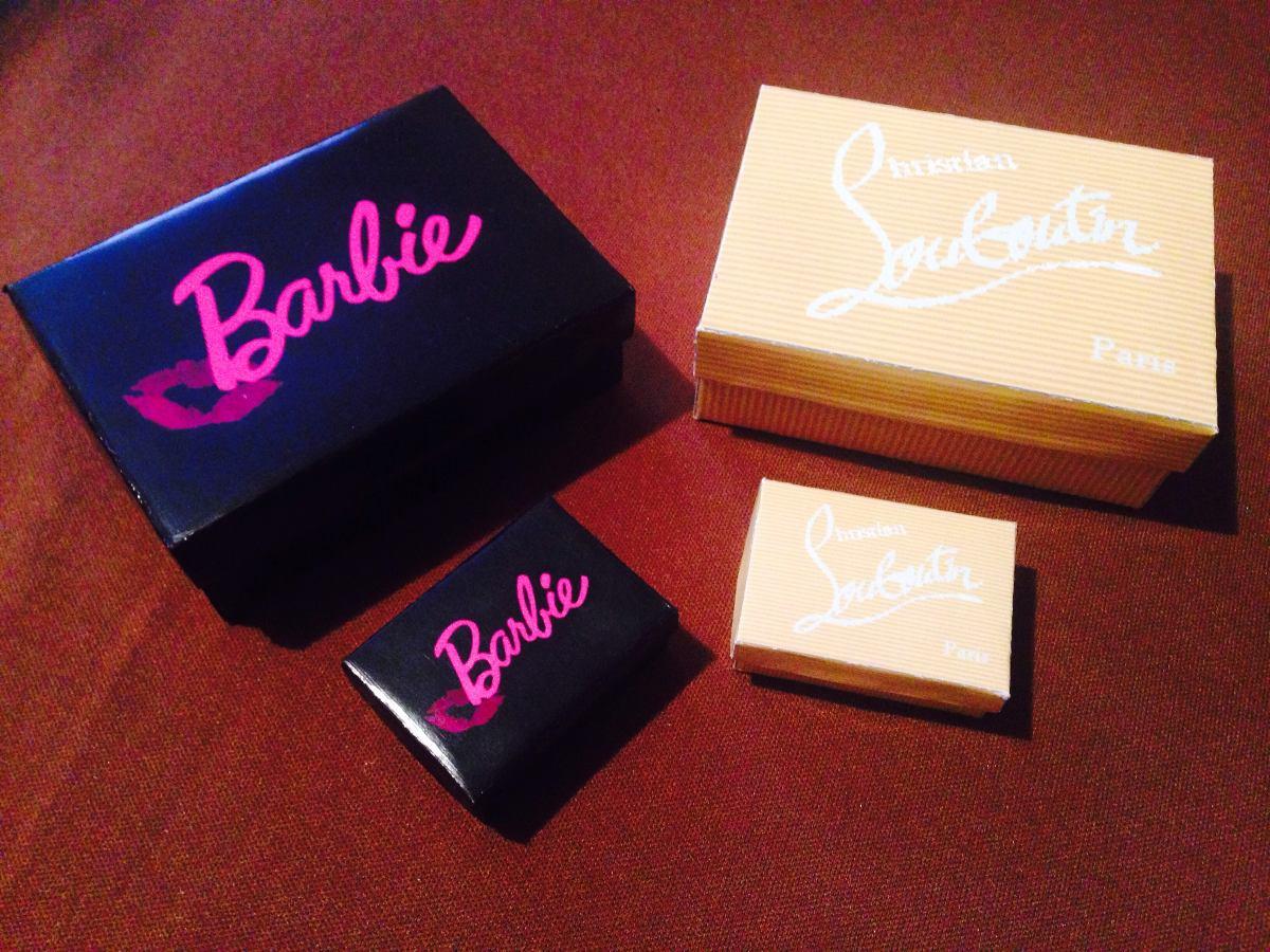 Cajas para zapatos de barbie en mercado libre - Cajas transparentes para zapatos ...