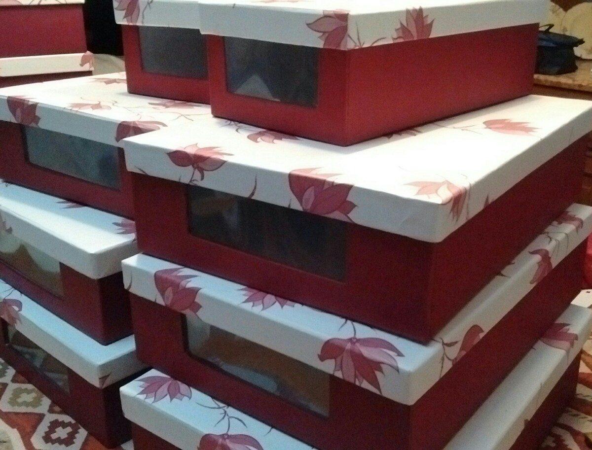 834e6cfb35 Cajas Para Zapatos Y Botas - $ 281,25 en Mercado Libre