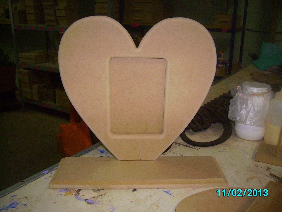 Cajas portaretratos manualidades todo en madera mdf - Manualidades con madera faciles ...