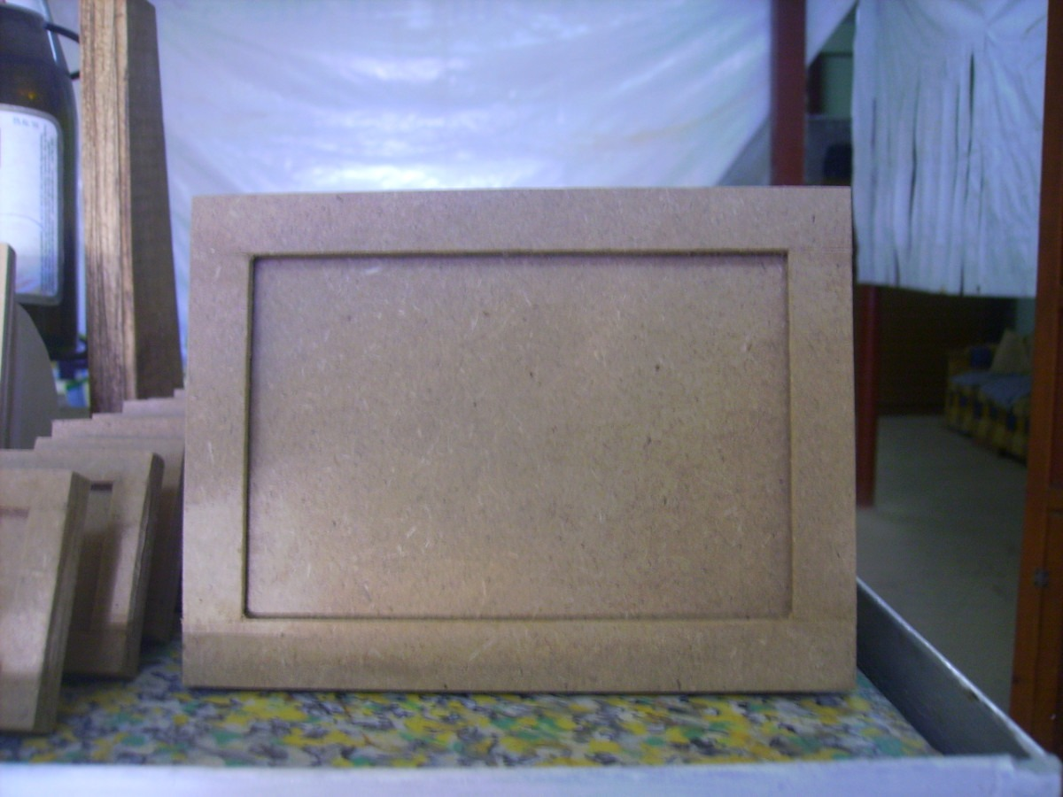 Cajas portaretratos manualidades todo en madera mdf - Cajas madera manualidades ...