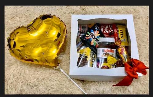 cajas ,regalo ideal con golosinas