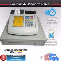 Cambio De Memorias Fiscal Caja Registradora Aclas Cr2100