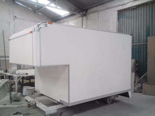 cajas secas - carrocerias - caja seca con copete o refrigera