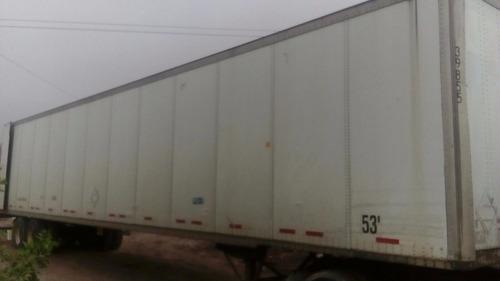 cajas secas,plataformas,gondolas,cajas refrigeradas,cajas 48