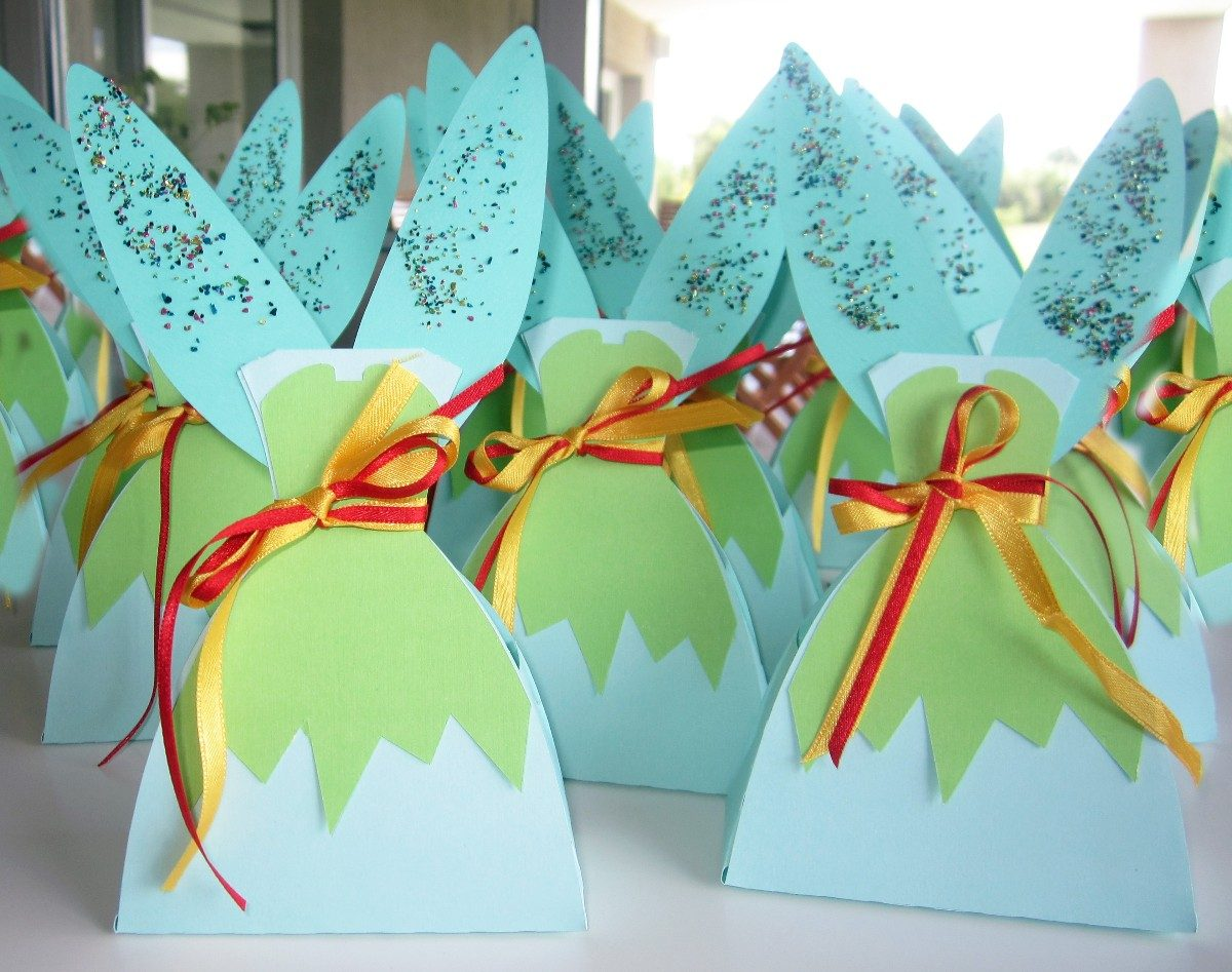 Cajas Souvenirs Cumple Tinkerbell Campanita Para Golosinas - $ 15 ...