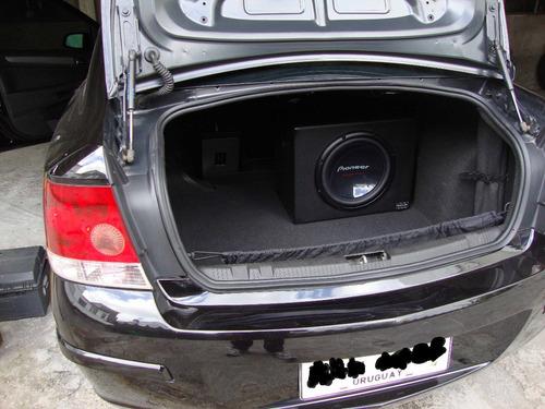cajas subwoofer 12 simil carbono o perforado,  zeus !!!