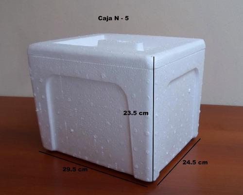 cajas termicas de tecnopor n-5
