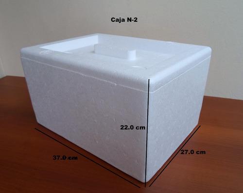 cajas termicas de tecnopor todas las medidas