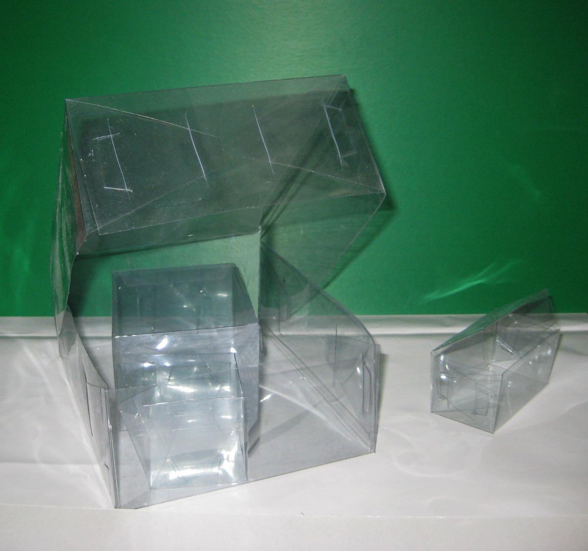 Cajas transparentes acetato pvc cualquier medida - Laminas de plastico transparente ...