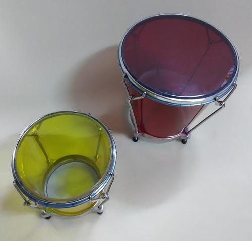 cajas vallenatas acrílicas pequeñas varios colores