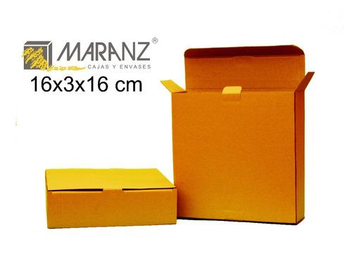 cajas y estuches de micro corrugado 16x3x16