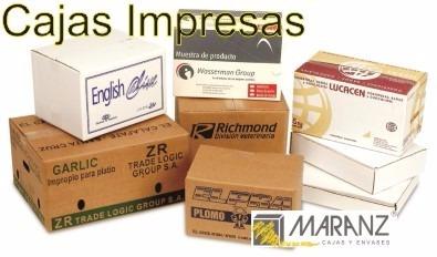 cajas y estuches de micro corrugado 18x18x22