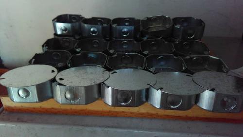 cajetin galvanizado metalico electrico con tapa