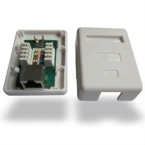 cajetin superficial 1 puerto c/jack-adhesivo smt-4402c5e-1p