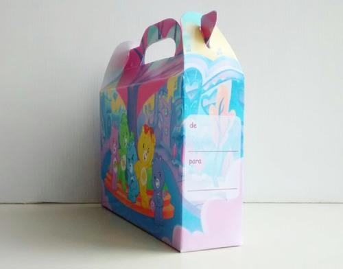 cajita bolsita ositos cariñositos souvenirs pack x30