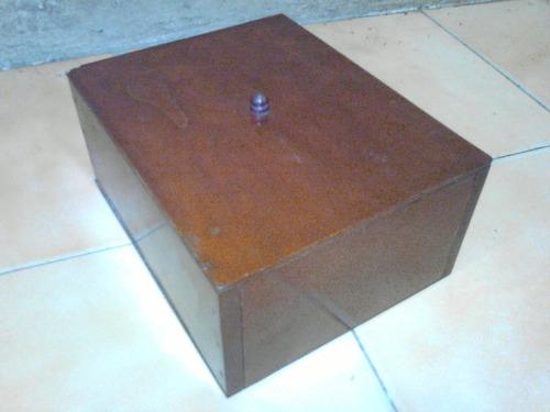 cajita en madera