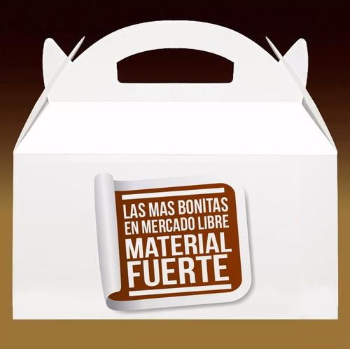 cajita feliz, caja cotillon, caja feliz, de cartón, lonchera